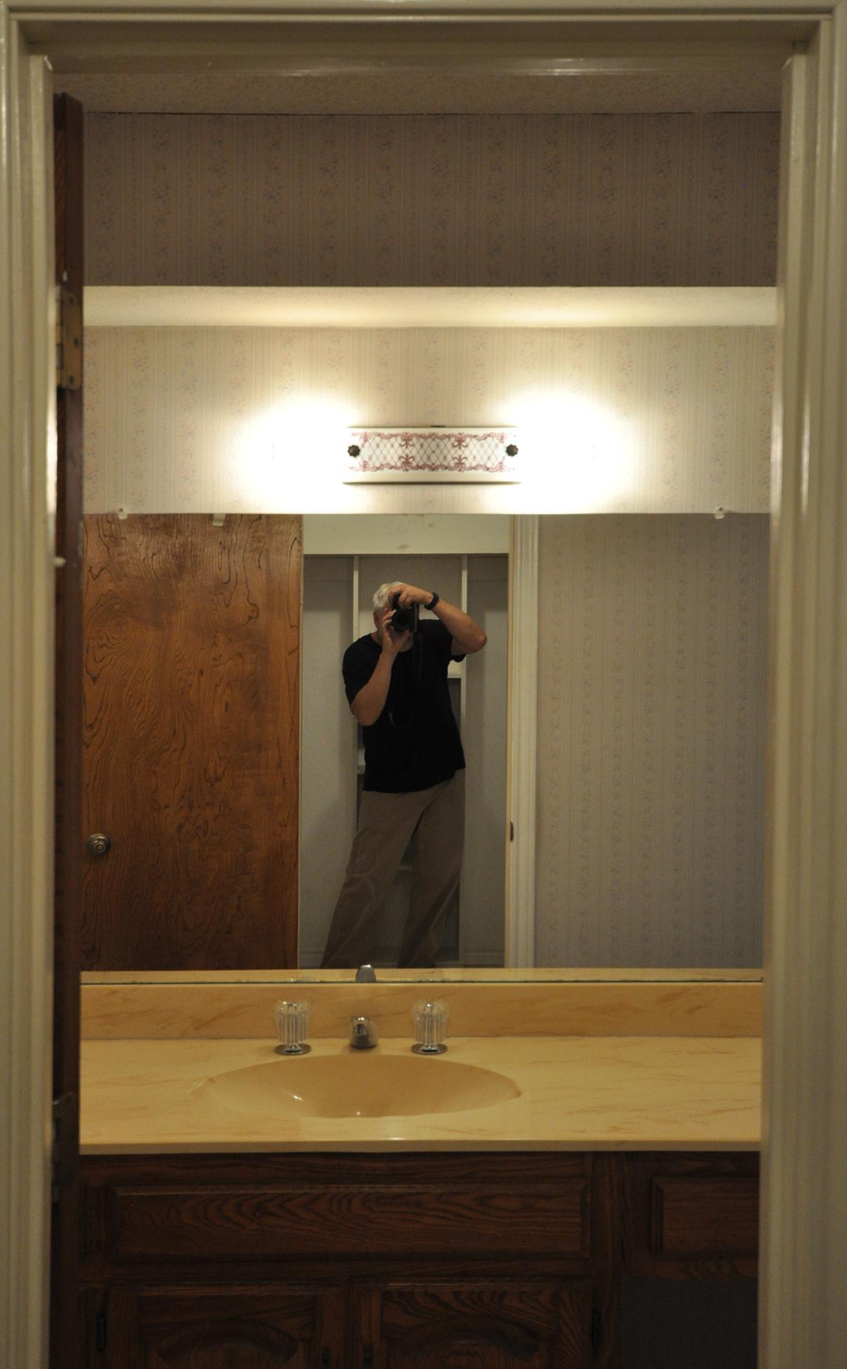As-Built Mirror selfie of architect Bob Borson