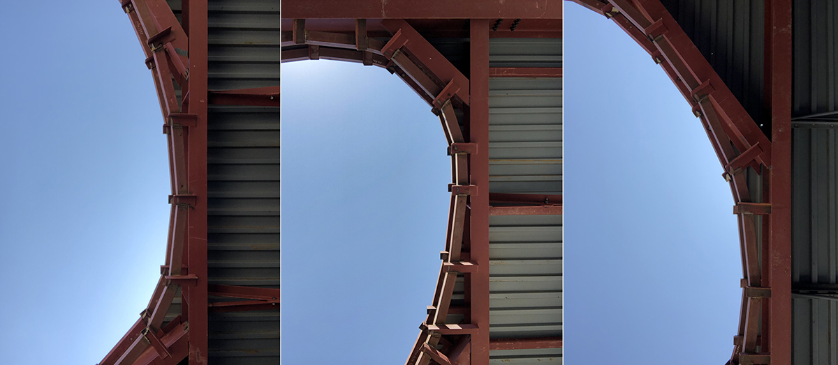 Oculus under construction - Framing Evaluation 01