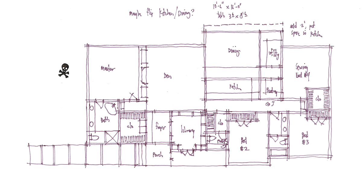Architectural Sketch Series Schematic Design 02 by Bob Borson