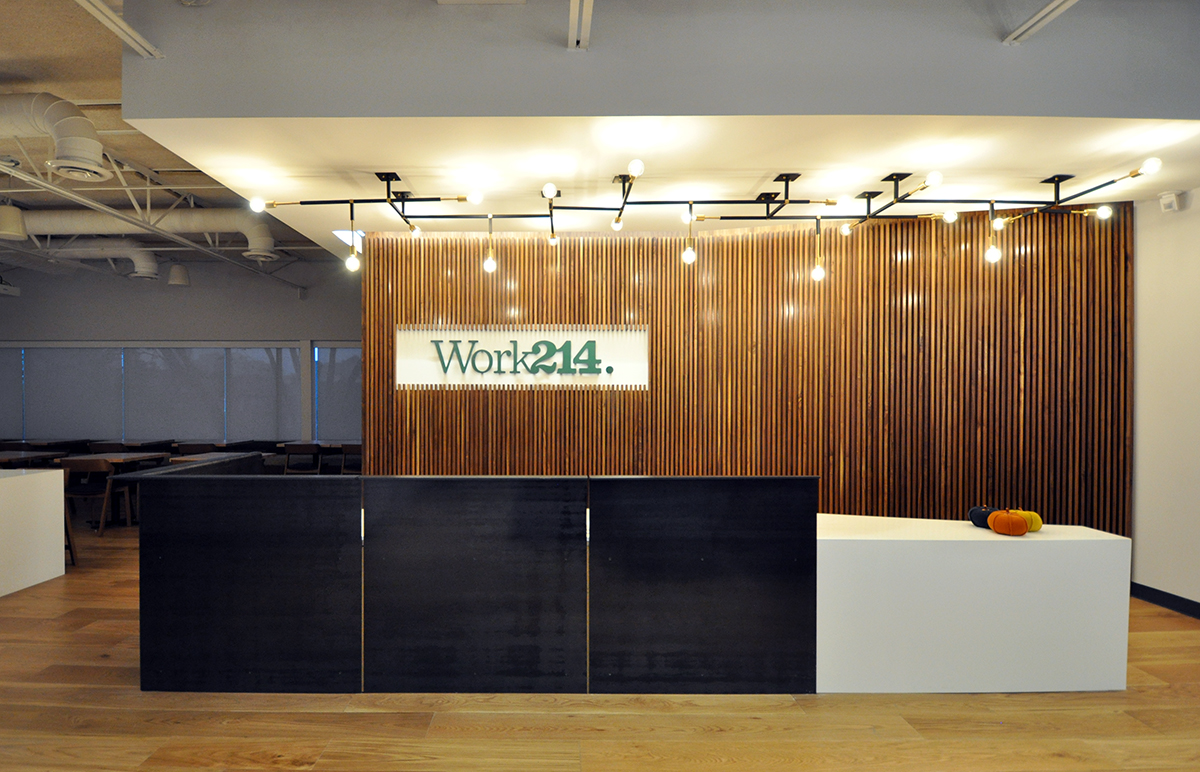 Work214 Steel Panel Reception Desk
