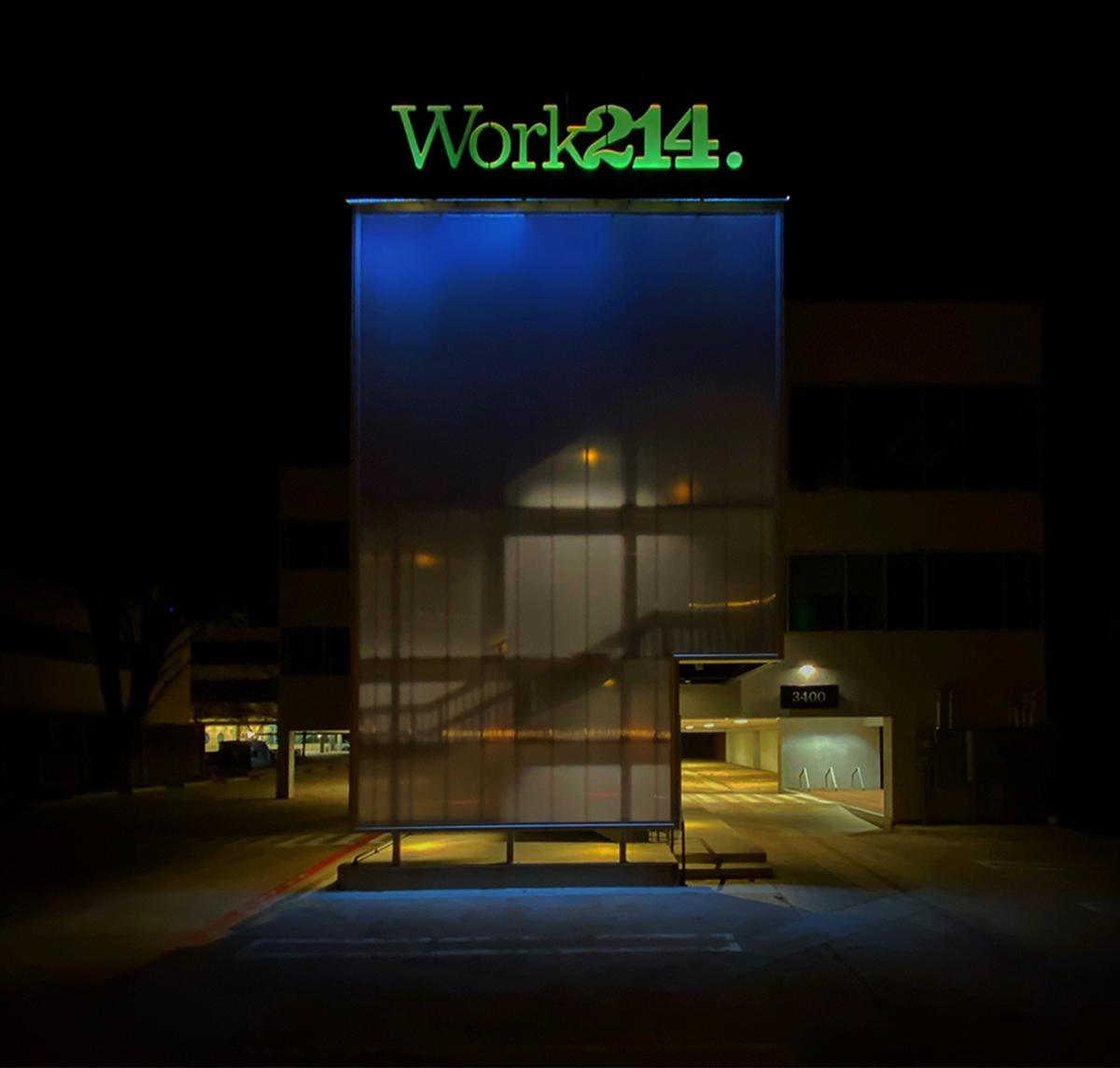 Work214 at Night