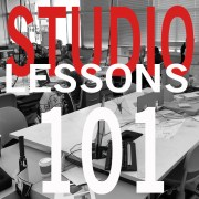 Studio Lessons 101: Architecture is about Words