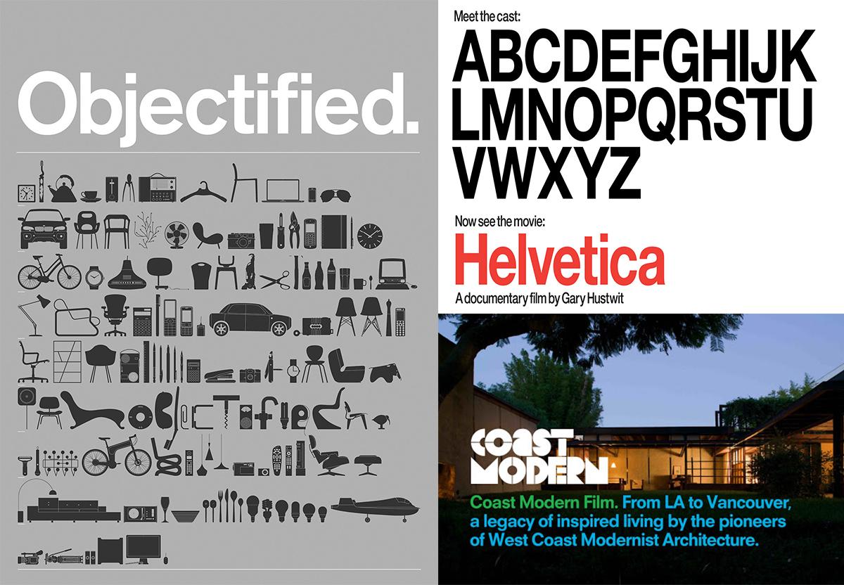 Objectified - Helvetica - Coast Modern