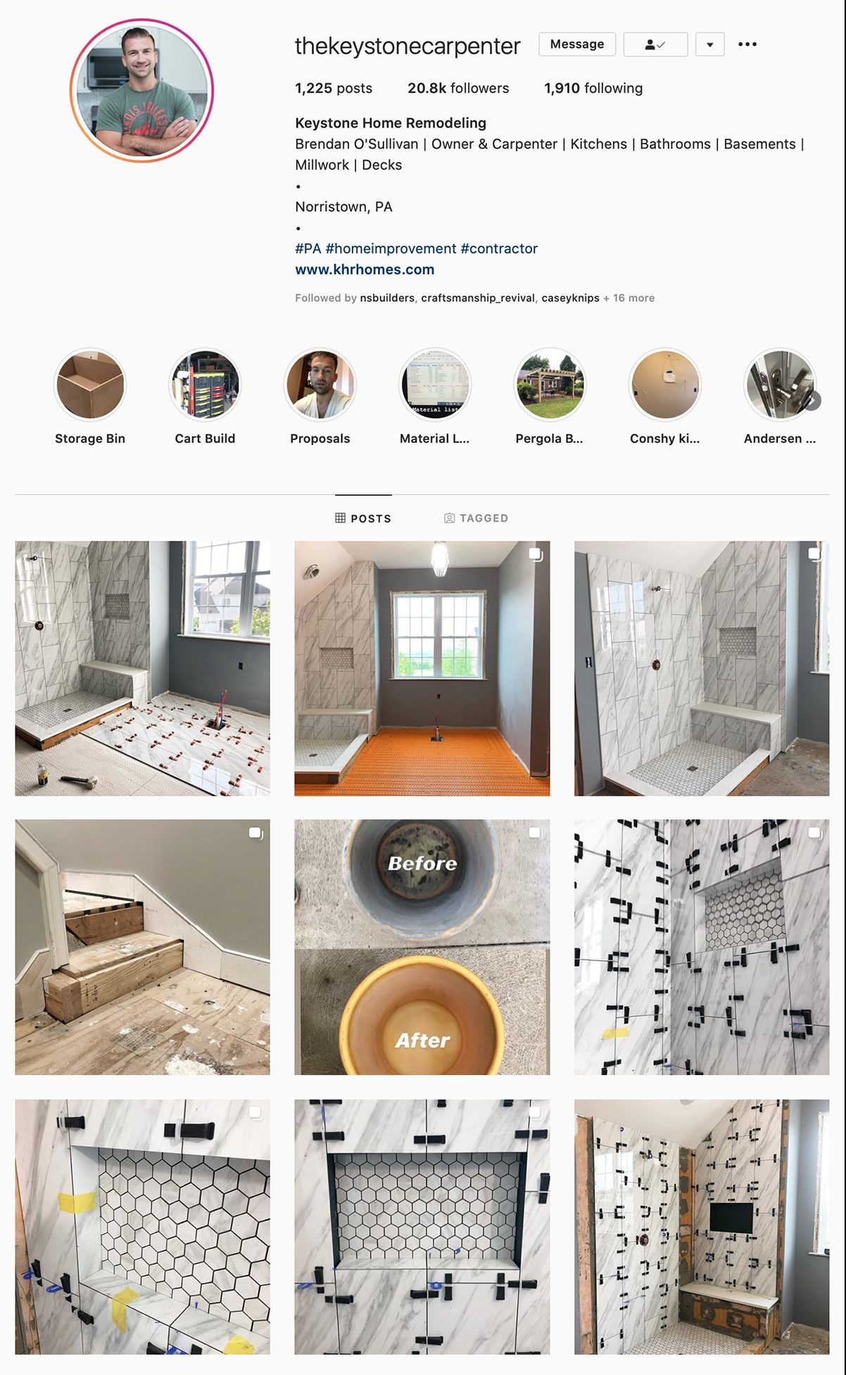 Best Construction Instagram Accounts The Keystone Carpenter