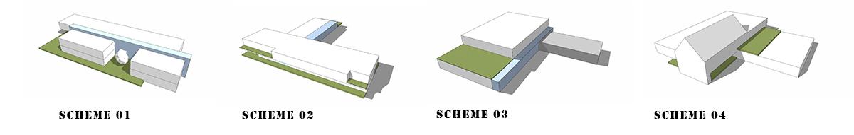Schemes - Massing Diagrams
