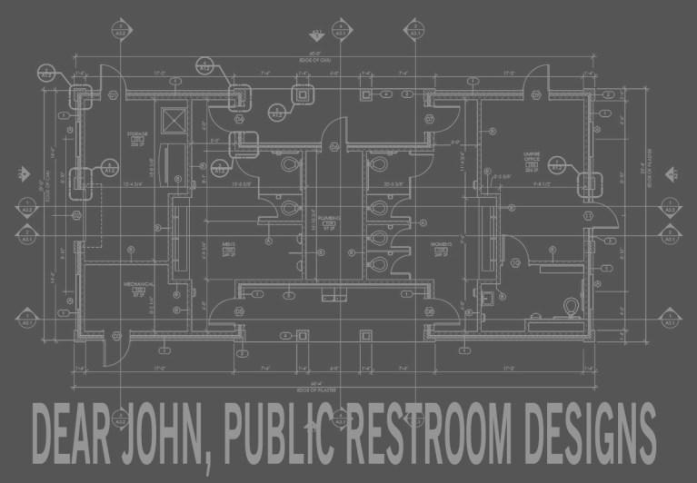 Dear John, an Ode to Public Restroom Designs LARGE