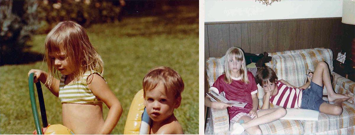 Brother and Sister - Bob Borson and Barbara Hulit
