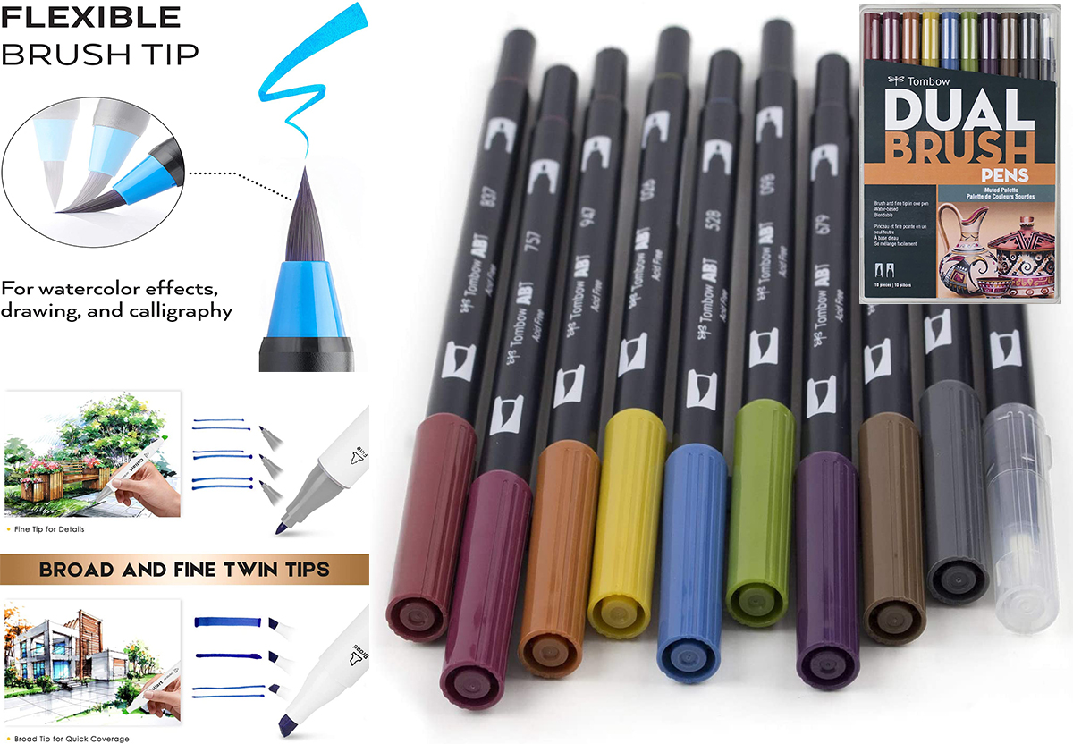 Architectural Color Marker Sets