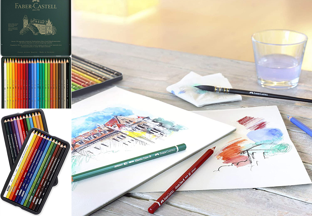 Color Pencil Water Color Pencil Sets