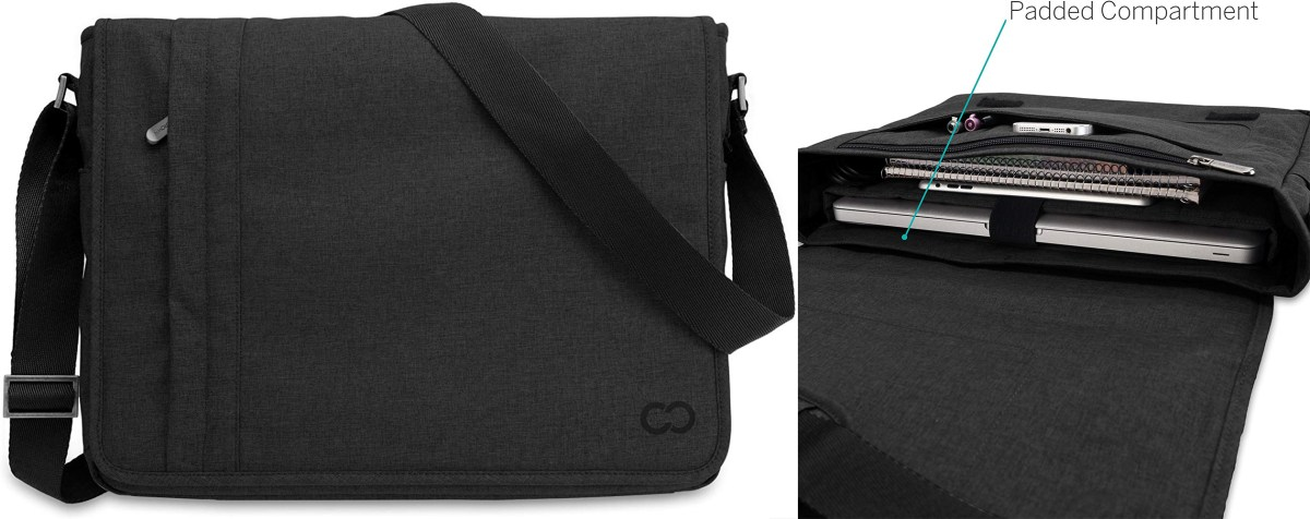 Case Crown Messenger Bag - Gifts for Architects