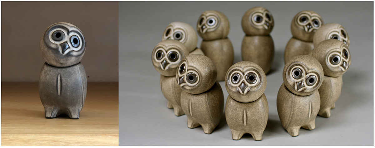 Dornburg Ceramic Owls - Gifts for Architects