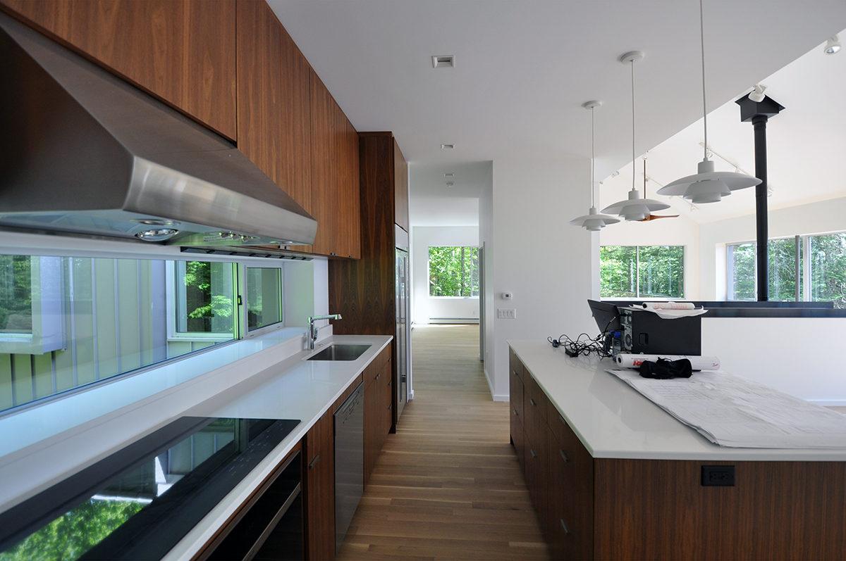 Modern Kitchen Open space - Dallas Architect Bob Borson