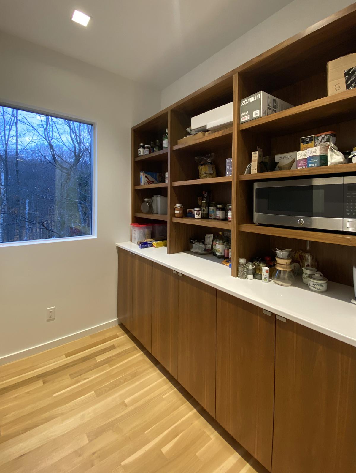 View of the Pantry Cabinets - Dallas Architect Bob Borson