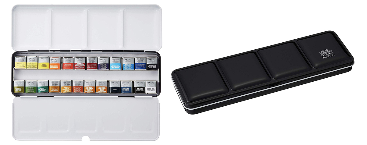 Winsor and Newton Professional Watercolour travel set - Gifts for Architects
