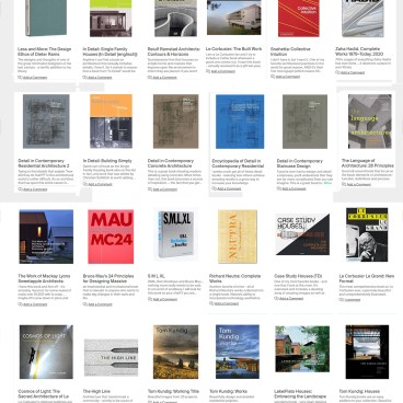 Architectural Books - 2020