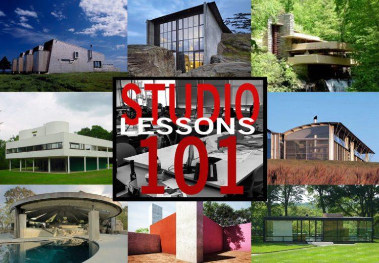 Studio Lessons 101: Architectural Precedents