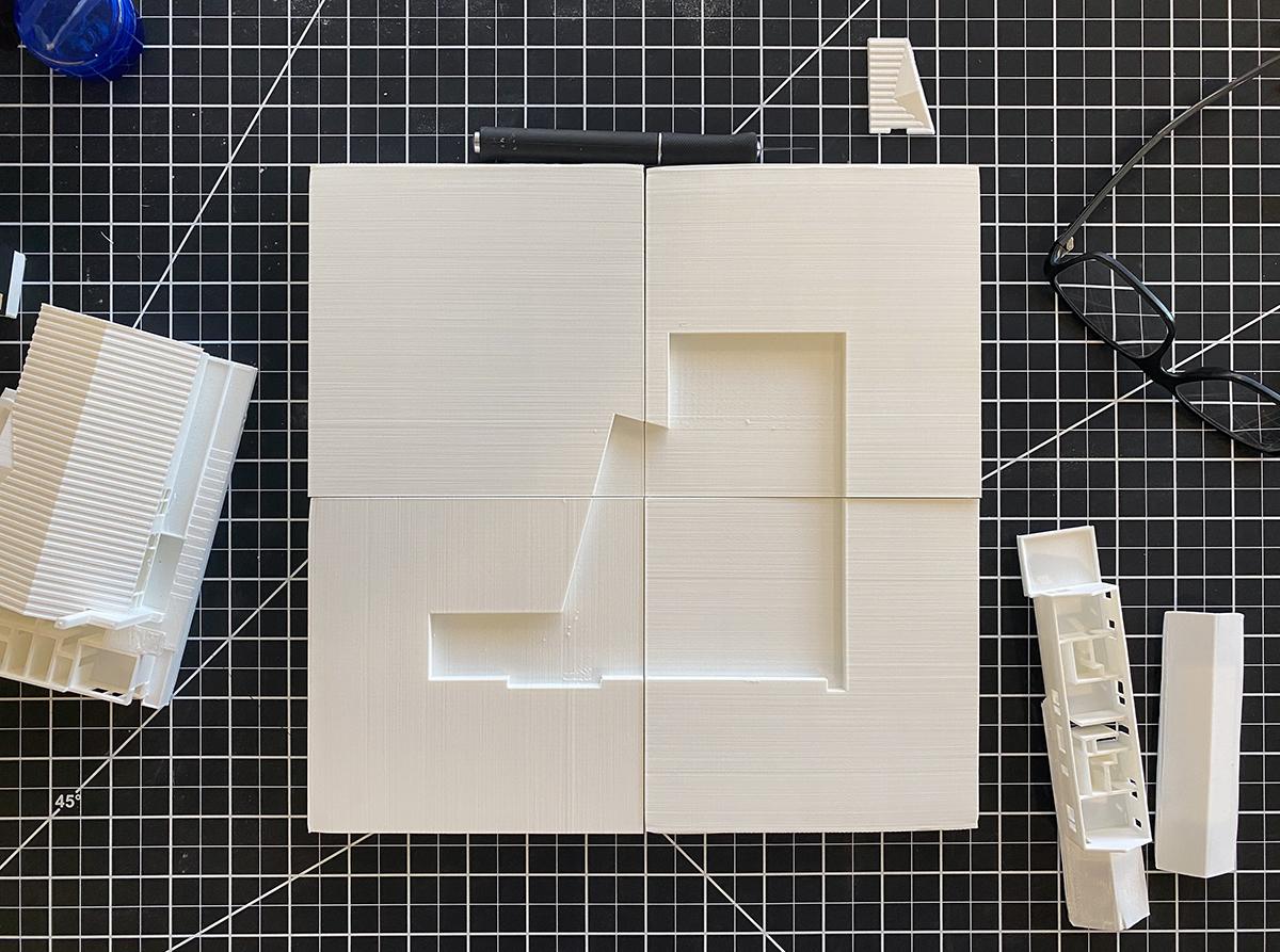 3d Model Site plan final 01