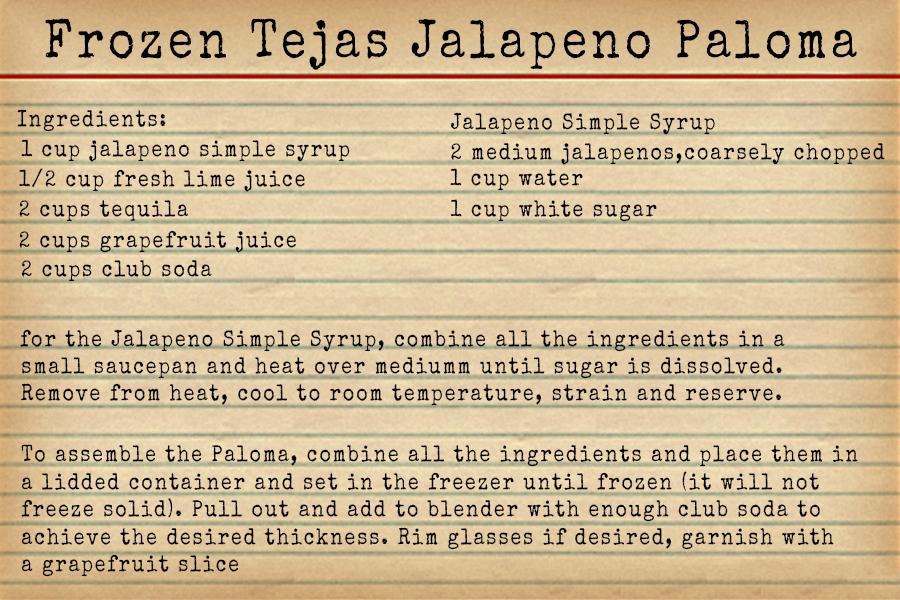 The Borson Family Frozen Paloma Recipe - Happy Hour at the Borson House