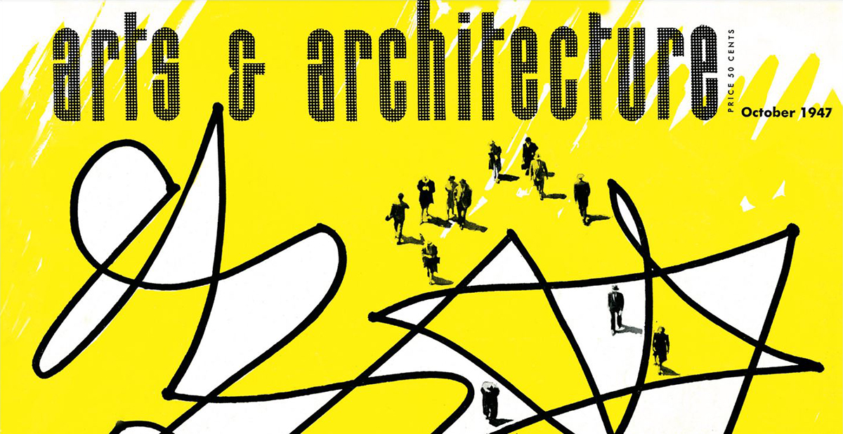 arts and architecture cover October 1947