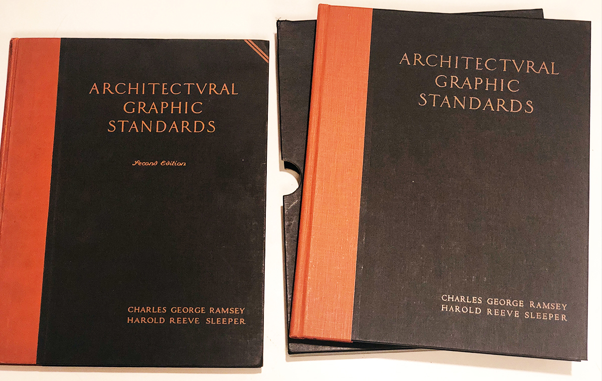 Architectural Graphic Standards 1st & 2nd Editions
