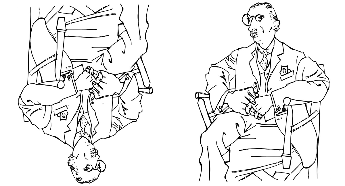 Stravinsky by Pablo Picasso - Building an Architect