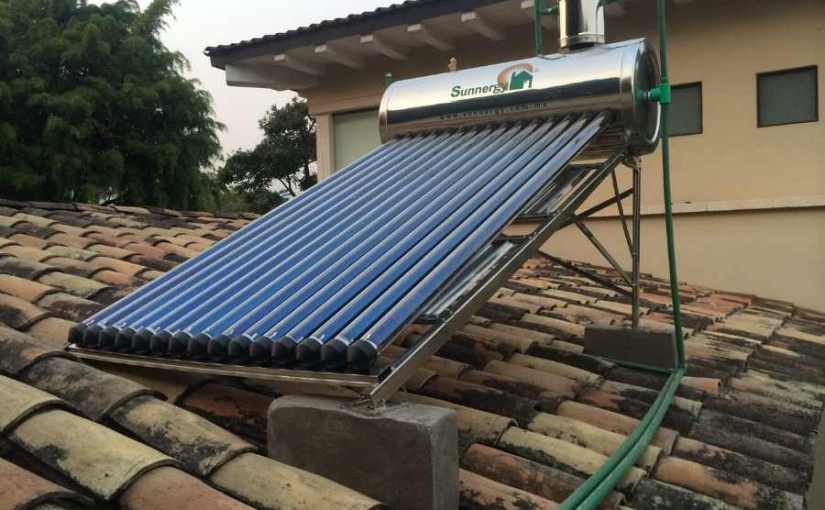 How To Build A DIY Evacuated Tube Solar Water Heater