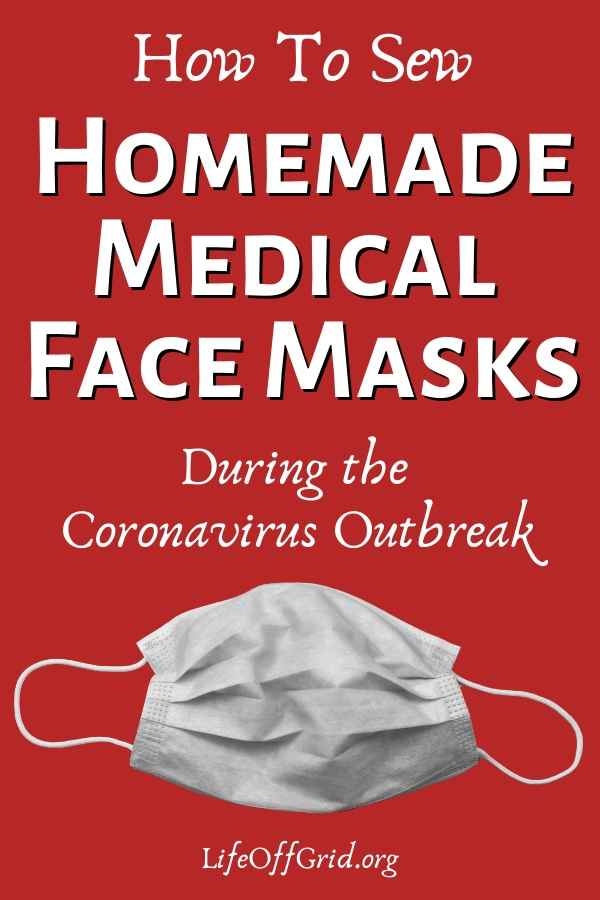 Homemade Medical Face Mask