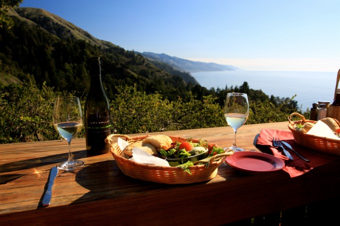 Nepenthe Cafe, Big Sur. Photo by: Traveling Otter
