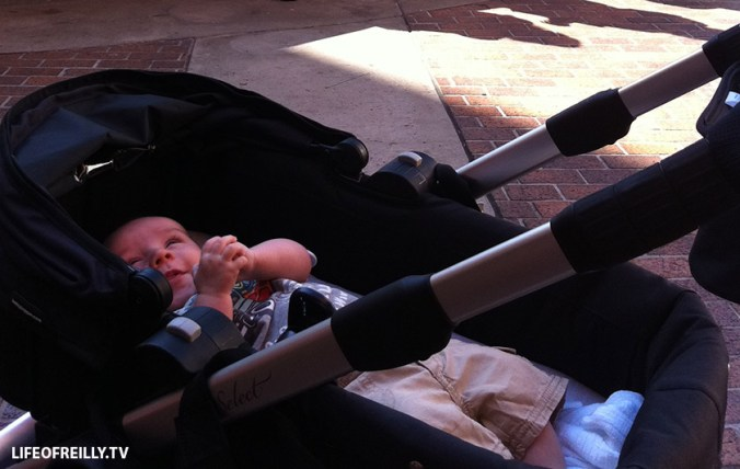 """You can get your bassinet on a flight as part of your """"buggy."""" The bassinet can then double up as a bed so there's no need for a travel cot at your destination. It's also good for babies not to always be in the car seat on the buggy, too."""