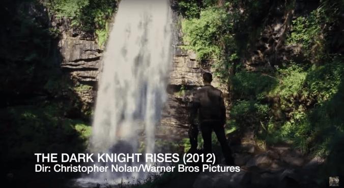 Henrhyd Falls Brecon Beacons Wales Dark Knight Rises