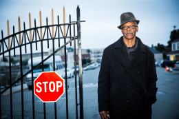 Former inmate, Watani Stiner returning to San Quentin to tell his story at Live @ San Quentin. (Photo Credit: Elisabeth Fall/fallfoto.com)