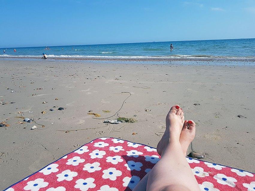 Beach days - life on a seesaw