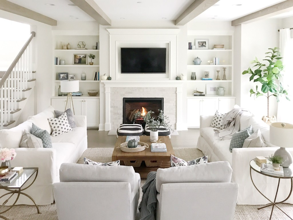 Outstanding Open Concept Living Room Life On Cedar Lane Caraccident5 Cool Chair Designs And Ideas Caraccident5Info