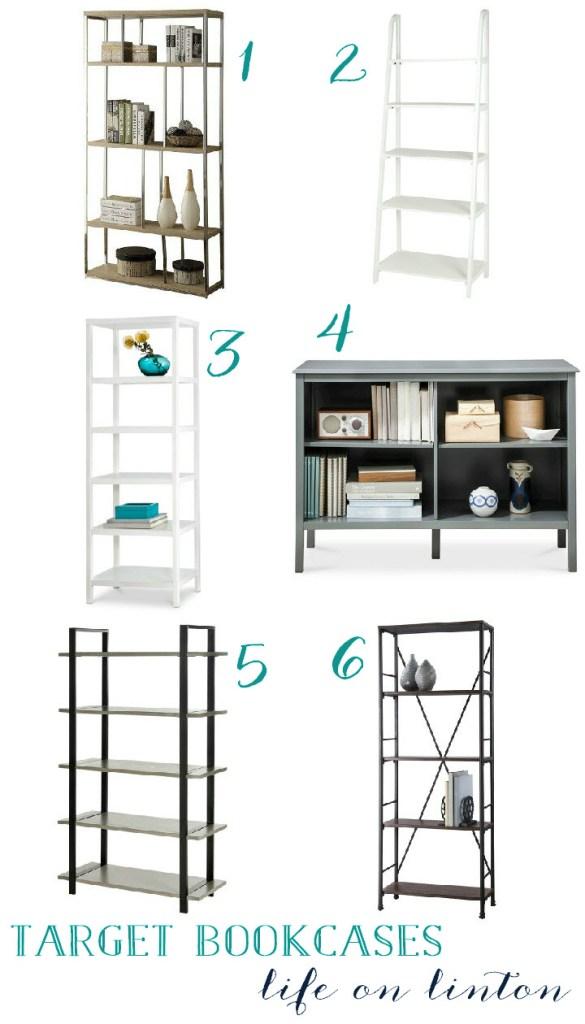 Target Style Bookshelf
