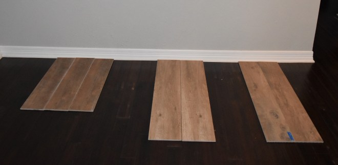 Wood Tile - Before