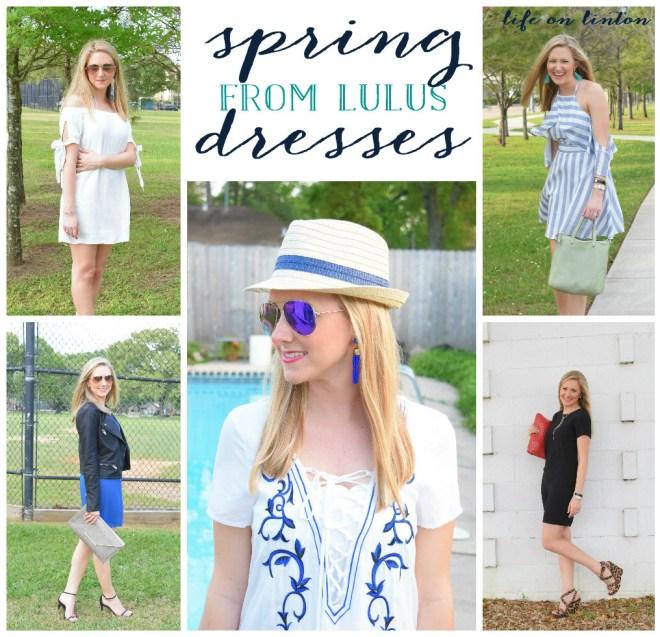 Trendy Spring Dresses from Lulus