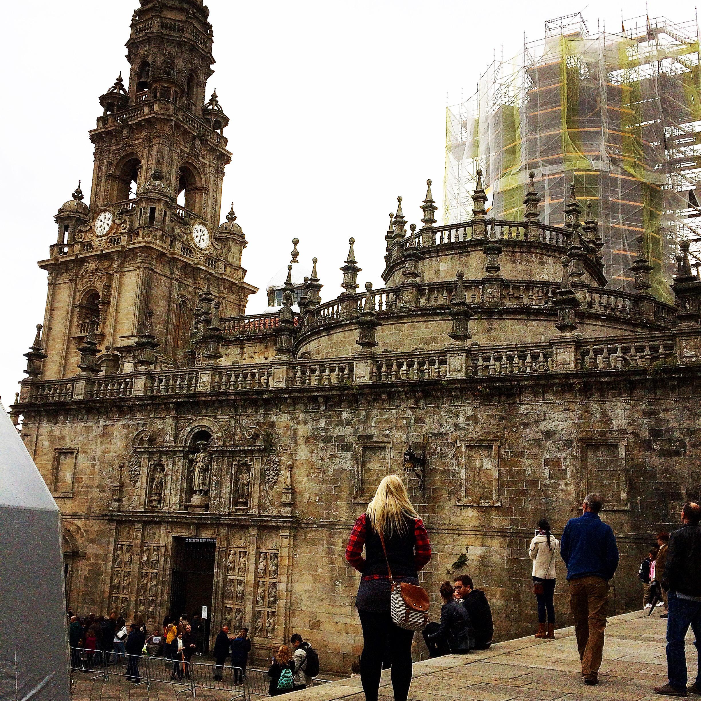 cathedral, santiago, church, camino de santiago, galicia