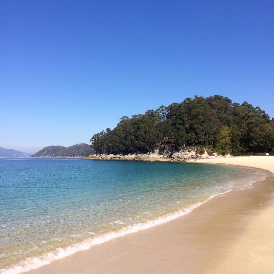 playa, beach, summer, galicia