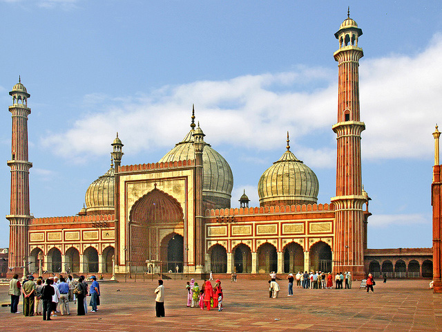 Jama Masjid - Photo by Dennis Jarvis, CC BY-SA 2.0