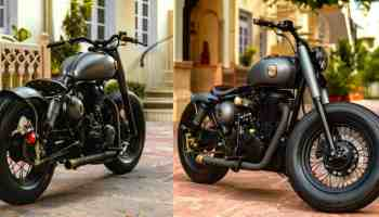 Upcoming Royal Enfield Bobber 838