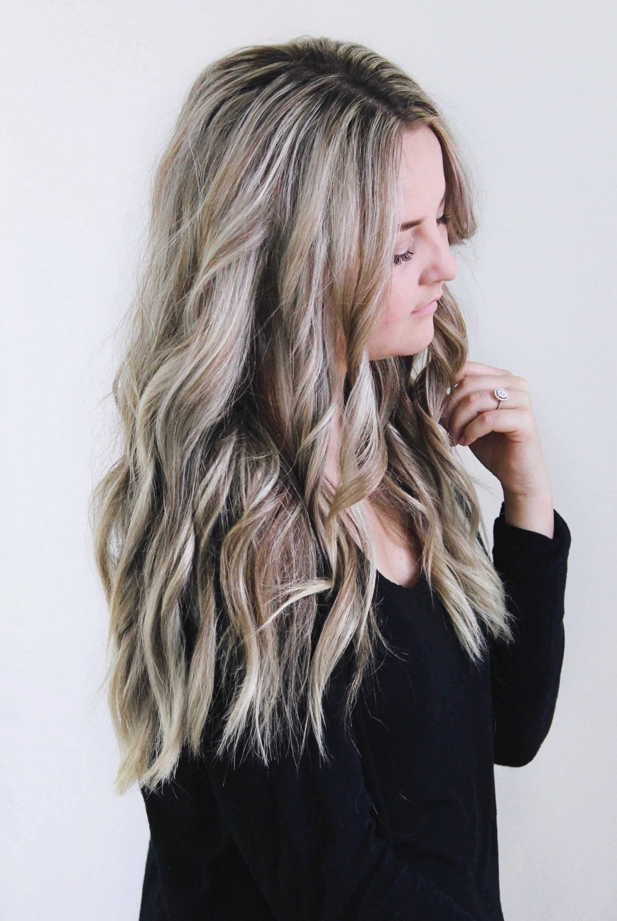 How To Curl Your Hair With A Flat Iron Beach Waves