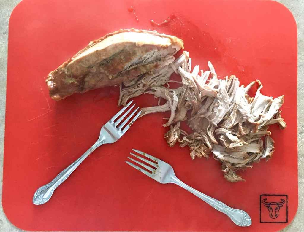 shred pulled pork