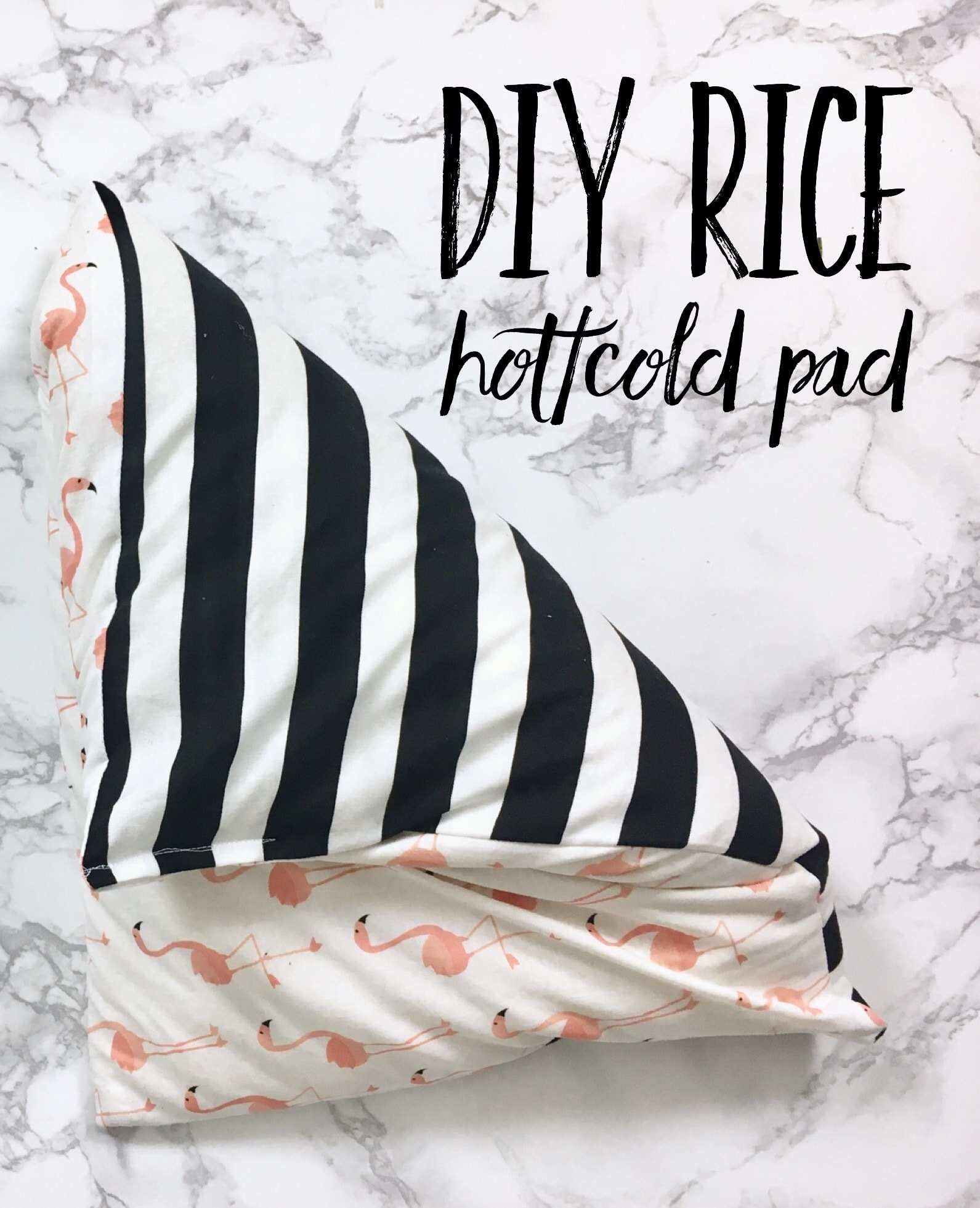 DIY Rice Hot/Cold Pad