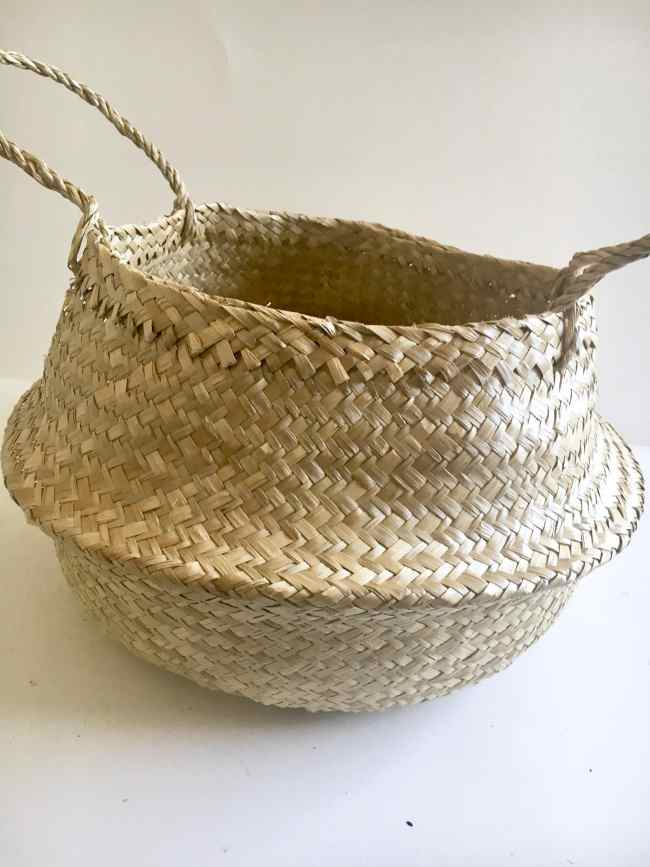diy dipped basket
