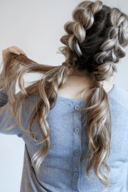 jumbo pull braid pigtails
