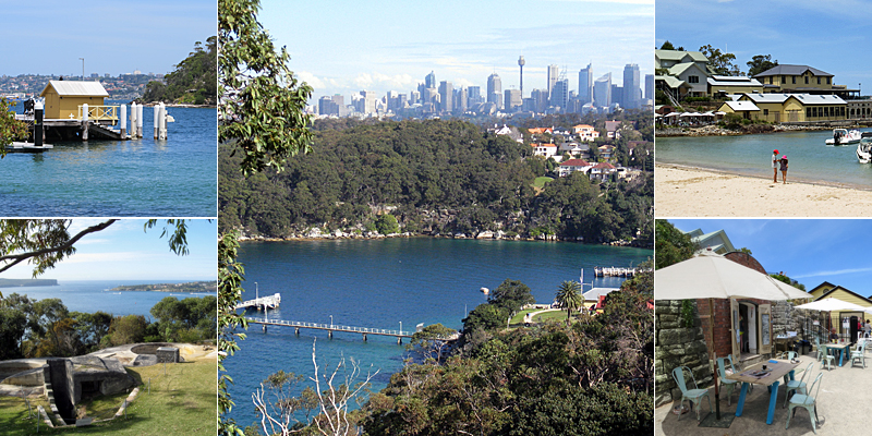 Georges Heights Lookout to Clifton Gardens