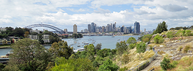 Waverton - Views from Berry's Bay Lookout