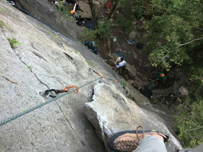 Outdoor Rock Climbing in Ontario 5