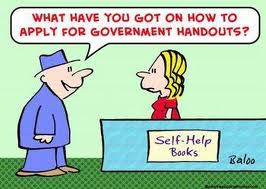 gov hand out
