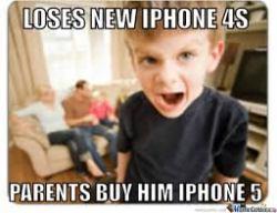 spoiled kid